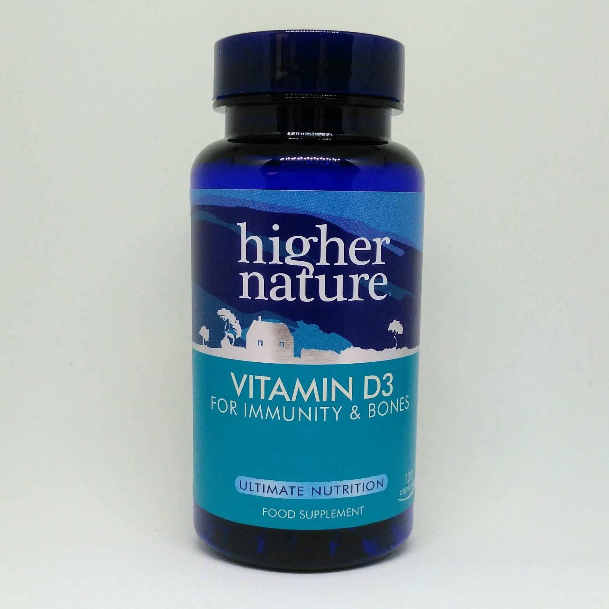 Vitamin D3 120 capsules