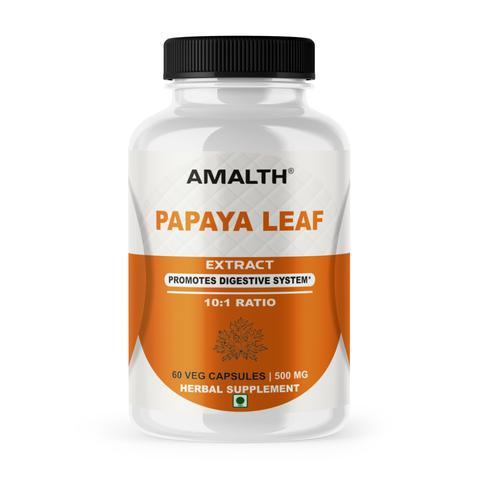 Amalth Papaya Leaf Extract Capsules 60caps