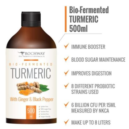 Rochway Bio fermented Turmeric with Ginger